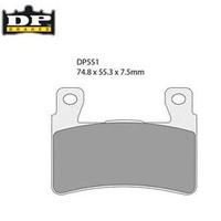 DP Brakes DP551 Sintered Front Brake Pad for Softail Models 15-16