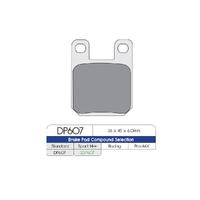 DP dp607 Brake Pad Pair Suit Jay Brake 2 & 4 Piston Caliper (Option 300-04)