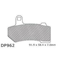 DP Brakes DP962 Sintered Front or Rear Brake Pads for FLH'08-16/V-Rod'06-16 Suit Harley