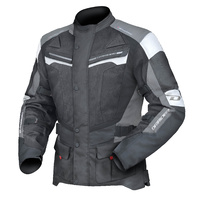 DriRider Apex 4 Airflow Jacket Black/White/Grey