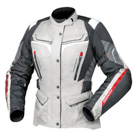 DriRider Apex 5 Ladies Jacket Grey/White/Black