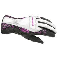 DriRider Vivid 2 Ladies Gloves White/Pink