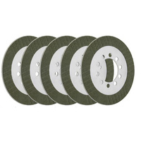 Energy One E1-BT-5-ECONO Friction Plates for Shovel/Panhead 41-84 (5 Pack)