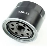 Emgo E1024410 Oil Filter Spin On Black for Kawasaki Mule
