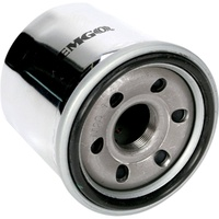 Emgo Oil Filter HD 63813-90 Chrome Long Dyna Models