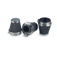 Emgo E1255754 Air Filter Pod (54M)m Tapered/Chrome Cap