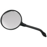Emgo E2029605 Replacement Z1 Mirrors Short Stem Black (Each)