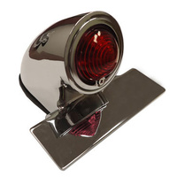 Emgo E6230360 Tail Light Sparto 50s Chopper Chrome
