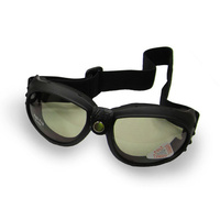 Emgo E7650153 Bandito Motorcycle Goggles Anit-Fog Smoke Lens