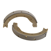 Eastern Motorcycle Parts EMP-A-41801-63 Rear Brake Drum Shoes for BT'63-72 Hydraulic (Pair)