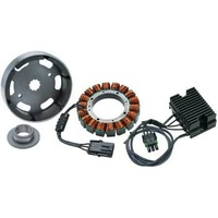 Compu-Fire 55565 40amp 3 Phase Charging Kit Big Twin 2003-06 Models suit with Closed Primary