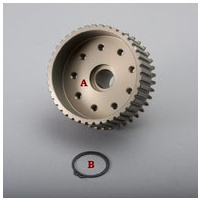 BDL Tapered Hub;chain dve BT'70-84 late taper to suit Harley