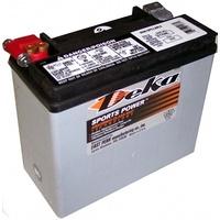 Deka Batteries ETX-20L Premium AGM Motorcycle Battery for Softail 97-Up/Dyna 97-17/Sportster 97-03/VRSC 07-17/Victory