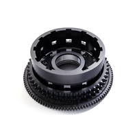Evolution Industries EVO-1006-3091 Reinforced Clutch Basket Black Ops for Big Twin'11up