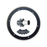 Evolution Industries EVO-1010-1131 84T Starter Ring Gear Kit w/Starter Clutch w/9T Pinion Gear Big Twin'90-93