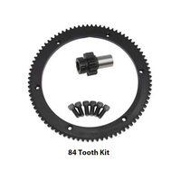 Evolution Industries EVO-1010-1141 84T Starter Ring Gear Kit w/Starter Clutch Includes 10T Pinion Gear Big Twin'94-'97