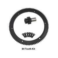 Evolution Industries EVO-1010-1151 Starter Ring Gear Kit for Big Twin 98-06 w/84T 5 Speed (inc 10T Pinion Gear)