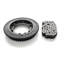 Evolution Industries EVO-1010-1225 Starter Ring Gear Kit for FLH'17up w/Clutch Sprocket