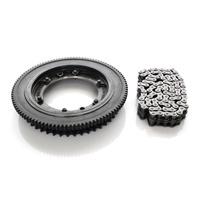 Evolution Industries EVO-1010-1225 Starter Ring Gear Kit w/Clutch Sprocket for Touring 17-Up w/Clutch Sprocket