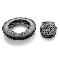 Evolution Industries EVO-1010-1226 Starter Ring Gear Kit for Softail'18up w/Clutch Sprocket