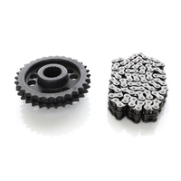 Evolution Industries EVO-1012-1248 Compensator Sprocket Conversion Kit for FLH'17up 30T w/84 Link Chain