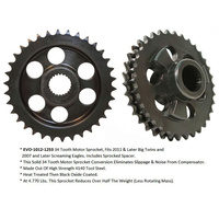 Evolution Industries EVO-1012-1253 Compensating Sprocket Conversion Big Twin'11up & SE 34T (exc FXCW/FXSB)