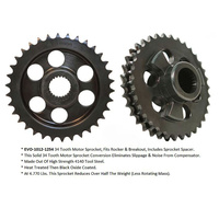 Evolution Industries EVO-1012-1254 Compensating Sprocket Conversion FXSB'14up & Rocker'08-11 34T