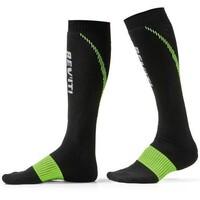 REV'IT! Trident Summer Socks Black/Yellow