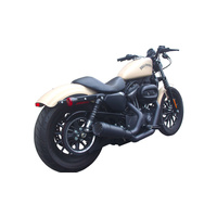 Firebrand Design FB-11-1008 FiftyTwo52 2:1 Exhaust Black XL'04up