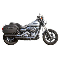 Firebrand Design FB-13-1002 Mufflers Black FXD'95up (excl FXDF'08up & FXDWG'10up)