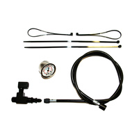 Feuling FE-9019 Remote Oil Pressure Gauge & Line Kit Black