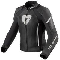 REV'IT! Xena 3 Ladies Leather Jacket Black/White