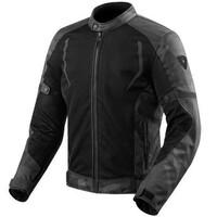 REV'IT! Torque Textile Jacket Black/Grey
