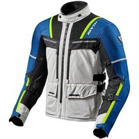 REV'IT! Offtrack Textile Jacket Silver/Blue