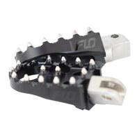 Flo Motorsports FLO-FPEG-800-4BLK V2 MX Footpegs Black for FTR1200 19-Up Front