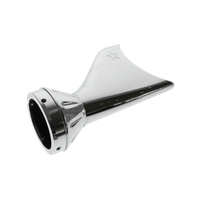 """Freedom Performance FPE-AC00244 Sharktail Tip End Cap Chrome for 4"""" Freedom Mufflers"""