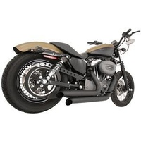Freedom Performance Exhaust; XL'04-13 Declaration Turnouts Blk