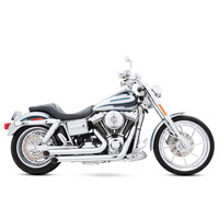 Freedom Performance FPE-HD00019 Declaration Turnouts Exhaust Chrome for Dyna 91-05