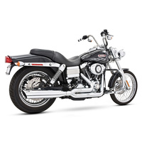 Freedom Performance FPE-HD00021 Union 2:1 Exhaust Chrome FXD'91-05