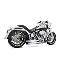Freedom Performance FPE-HD00034 Declaration Turnouts Exhaust Chrome for Softail 86-17