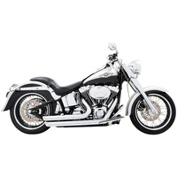 Freedom Performance Exhaust FPE-HD00035 Amendment Exhaust System Chrome for Softail 86-17
