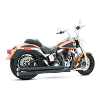 Freedom Performance FPE-HD00038 Long Independence Exhaust Black Softail'86-17