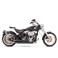 Freedom Performance FPE-HD00040 Short Independence Exhaust Black Softail86-17