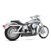 Freedom Performance FPE-HD00047 Declaration Turnouts Exhaust Black for Dyna 06-17