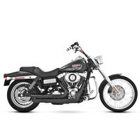Freedom Performance FPE-HD00048 Amendment Exhaust Black Dyna FXD06-17