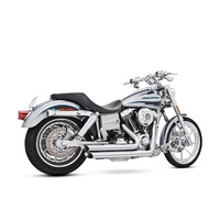 Freedom Performance FPE-HD00061 Amendment Exhaust Chrome for Dyna 06-17