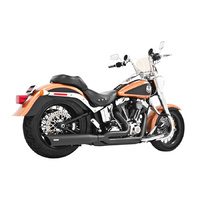 Freedom Performace Exhaust Union; 2:1 S/Tail'86-17 Blk  to suit Harley