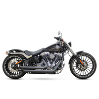 Freedom Performance FPE-HD00252 Amendment Exhaust Black for Breakout 13-Up/Rocker 08-11