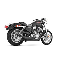 Freedom Performance FPE-HD00404 Declaration Turnouts Exhaust Black for Sportster 14-Up