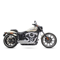 Freedom Performance Exhaust FPE-HD00739 Declaration Turnouts Exhaust System Chrome for Softail 18-Up